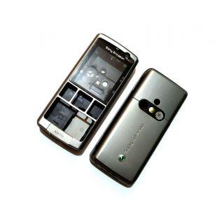 Корпус для SonyEricsson K610 оригинал серый, с крышкой