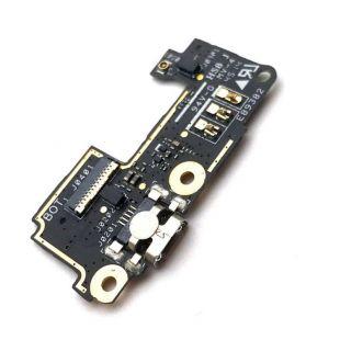 Разъём Asus Zenfone 5 A500CG, A500KL microUSB на плате Б/У оригин