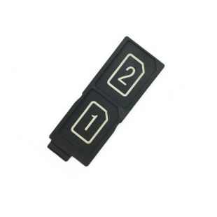 Лоток сим карты для Sony E6633, E6683, E6833, E6883 две SIM
