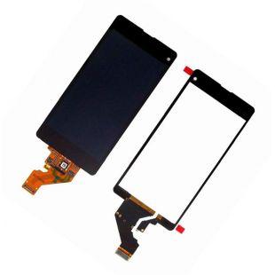 Дисплей для Sony D5503 Xperia Z1 Compact с тачскрином чёрный