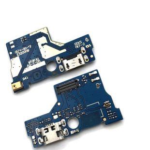 Разъем для Asus ZA550KL micro USB на платке, с микрофоном