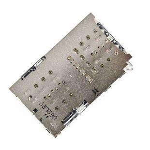 Коннектор SIM карты и MicroSD для Nokia 8 TA-1004 TA-1012 TA-1052