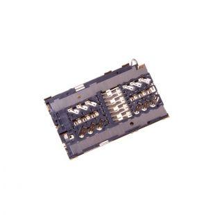 Коннектор SIM карты и MicroSD для LG H930 V30, G7 LMG710, Q850