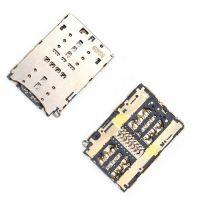 Коннектор SIM карты и MicroSD для Nokia 7.1, 7 Plus