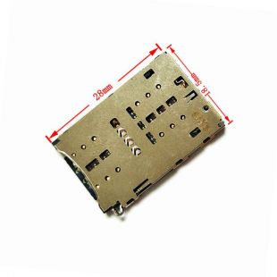 Коннектор SIM карты и MicroSD для Huawei Honor 8, 9 Lite P9 Lite2