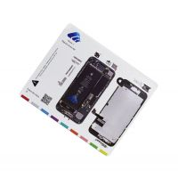 Магнитная карта схема винтов, болтов для iPhone 7