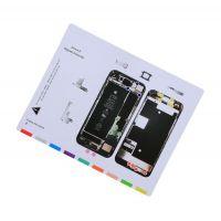 Магнитная карта схема винтов, болтов для iPhone 8