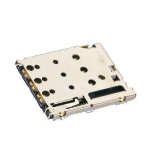 Коннектор SIM карты для LG K7 X210DS слот