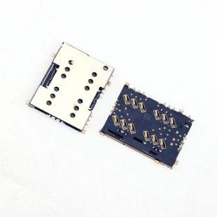 Коннектор SIM карты для Sony E5633, E5643, E5663, E5603, E5606