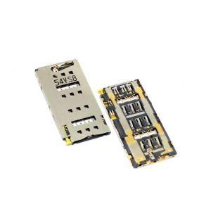 Коннектор SIM карты для Sony Xperia Z3+ E6533, Xperia Z4