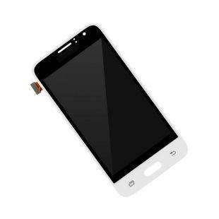 Дисплей для Samsung SM-J120F/H/DS Galaxy J1 (2016) белый с тачск.