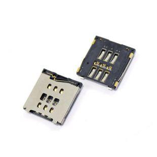 Коннектор SIM карты для iPhone 6, 6 Plus считыватель