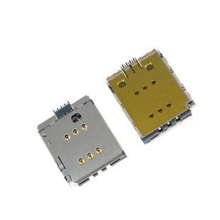 Коннектор SIM карты для iPhone X считыватель, слот