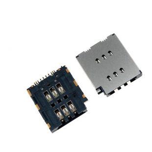 Коннектор SIM карты для iPhone XS Max считыватель, слот