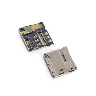 Коннектор SIM карты для Asus PF500KL, PadFone X, A600CG, A500KL