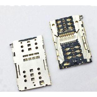 Коннектор SIM карты для Asus ZE520KL, ZC520TL, ZE552KL, ZC551KL