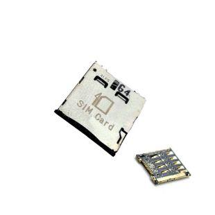 Коннектор SIM карты для Alcatel OT-6010D, OT-6030D, OT-6033X