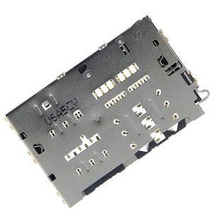 Коннектор SIM карты и microSD для Samsung J730, J415, A510, J600