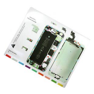 Магнитная карта схема винтов, болтов для iPhone 6 Plus