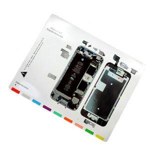 Магнитная карта схема винтов, болтов для iPhone 6S