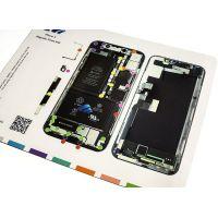 Магнитная карта схема винтов, болтов для iPhone X