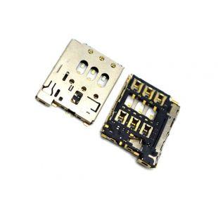Коннектор SIM карты для HTC Desire 816, Desire 610