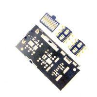 Коннектор SIM карты и microSD для Samsung A715F, A025F, A515F