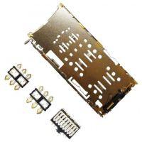 Коннектор SIM карты и microSD Asus ZC554KL, ZC520KL, X00ID