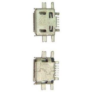 Разъем для Nokia N97, E52, E55, N8-00 microUSB, 5 pin