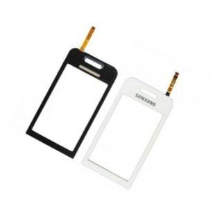 Тачскрин для Samsung S5230 белый на скотче