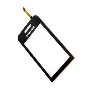 Тачскрин для Samsung S5233T черный на скотче