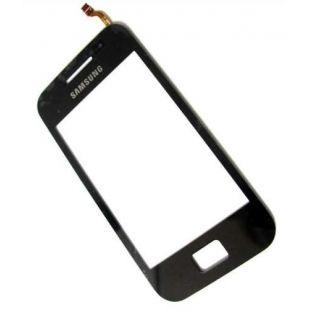 Тачскрин для Samsung S5830 Galaxy Ace черный на скотче