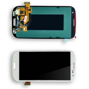 Дисплей для Samsung i9300, i9301i, i9305 с тачск. белый