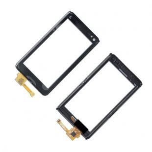 Тачскрин для Nokia N8 в рамке черный