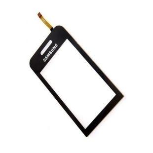 Тачскрин для Samsung S5230 чёрный на скотче