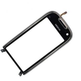 Тачскрин для Nokia C7-00 в рамке оригинал, черный
