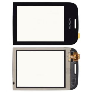 Тачскрин для Nokia 202, 203 черный