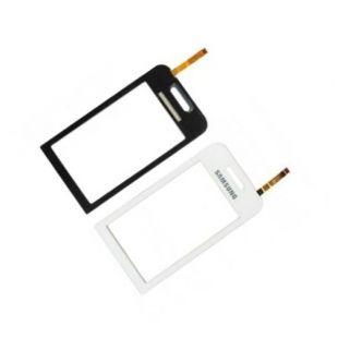 Тачскрин для Samsung S5230 белый на скотче, ОРИГИНАЛ