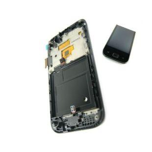 Дисплей для Samsung i9003 с тач. черный, ориг.