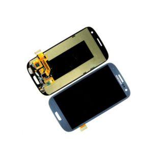 Дисплей для Samsung i9300, i9301i, I9305 с тачскр синий