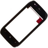 Тачскрин для Nokia 710 Lumia в рамке, черный