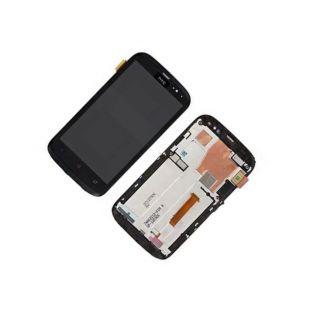 Дисплей для HTC Desire V, T328w с тачск. черн. ориг.