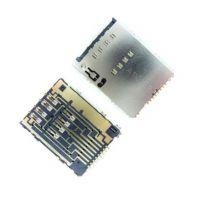 Коннектор SIM карты для Samsung S5250, S5750, S8530, P5100