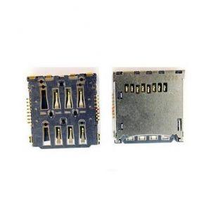 Коннектор SIM карты для Sony LT25i C5502 с раз. microSD