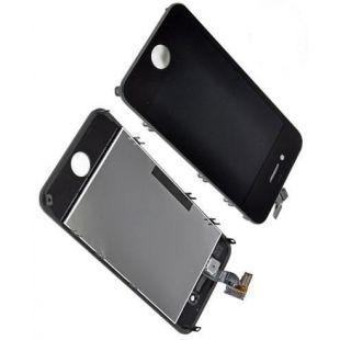 Дисплей для iPhone 4 с тачскрином черный