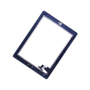 Тачскрин для iPad 2 черный, с кнопкой Home оригинал