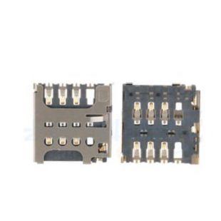 Коннектор SIM карты для Sony C1905, C2004, Nokia 625