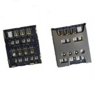 Коннектор SIM карты для Sony C5302, C5303, C5306, LT26, LT26ii