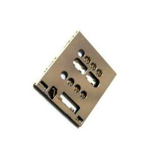 Коннектор SIM карты для Sony LT28 Xperia, Acro S LT26w слот