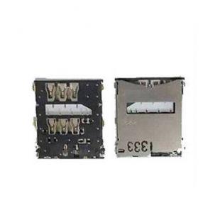 Коннектор SIM карты для Sony C6602, C6603, C6606